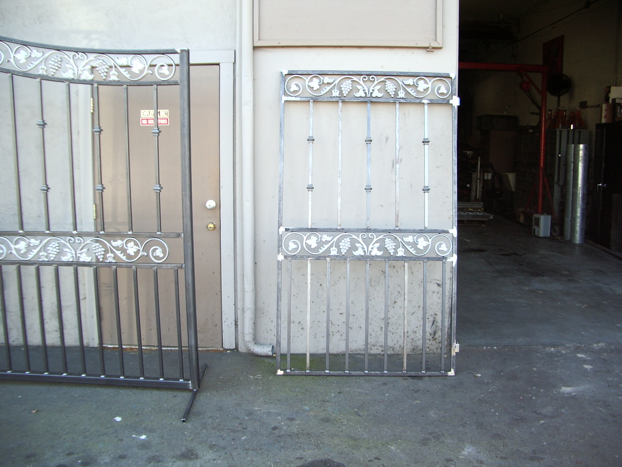 Custom Side Walk-Through Gate